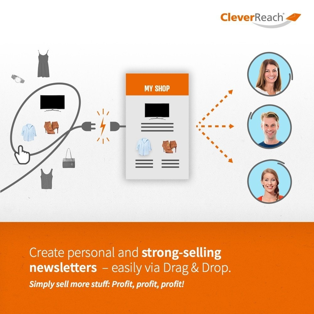 module - Boletim informativo & SMS - CleverReach® - Newsletter Marketing - 3