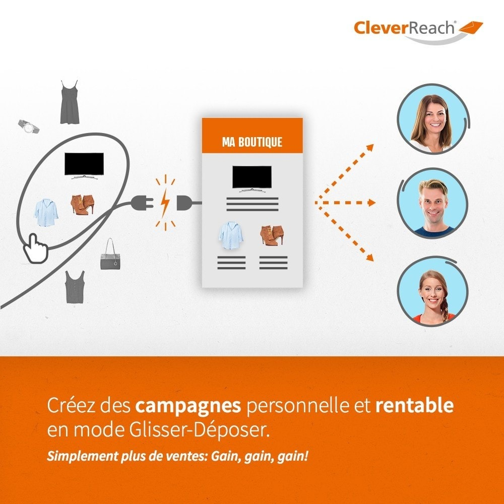 module - Newsletter & SMS - CleverReach® - E-Mail Newsletter - 3