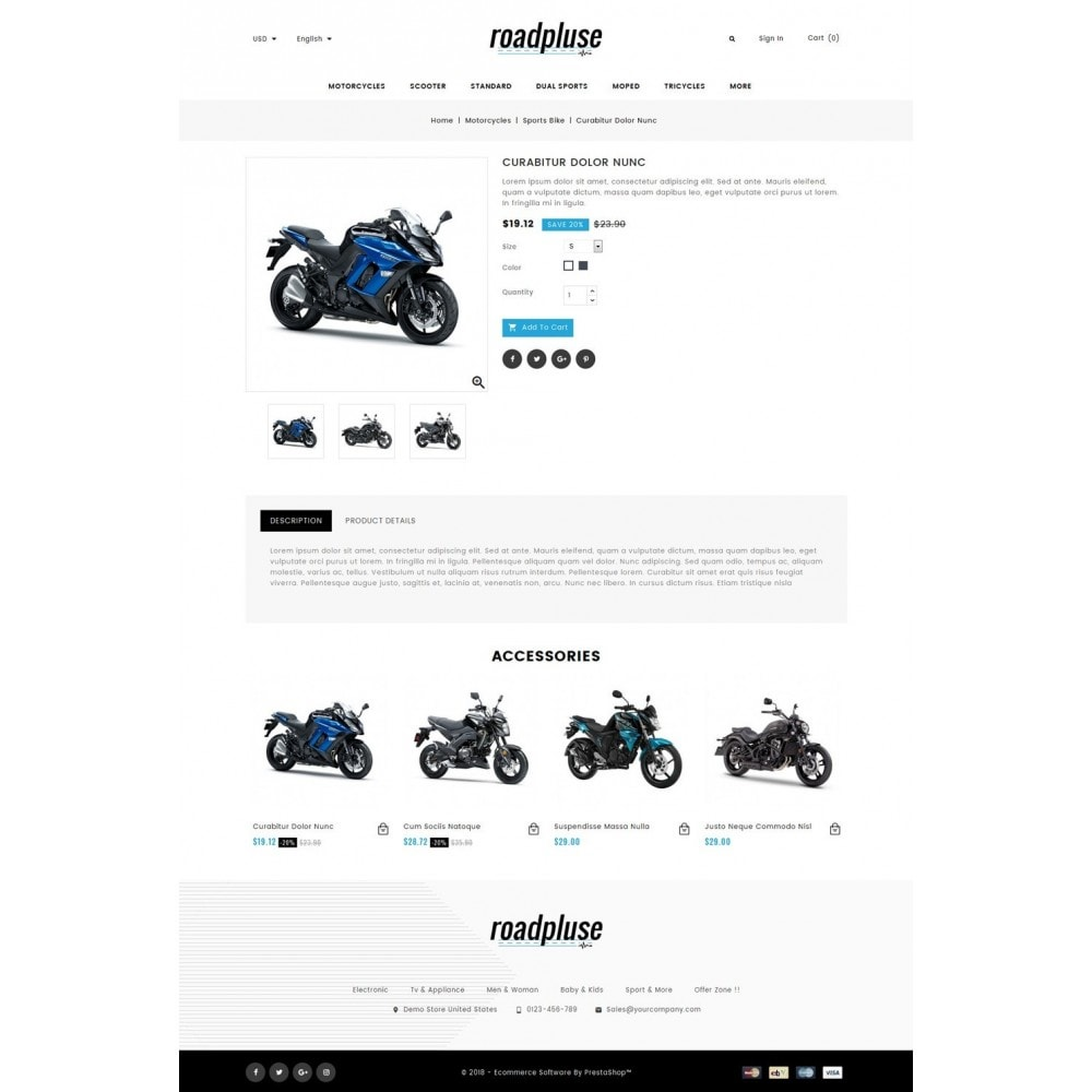 theme - Automotive & Cars - Roadpluse - Bike Store - 4