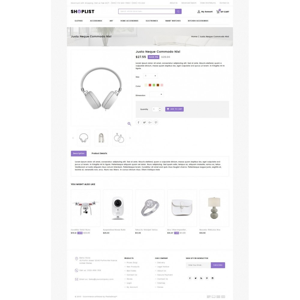 theme - Elektronik & High Tech - Shoplist - Mega Store - 4