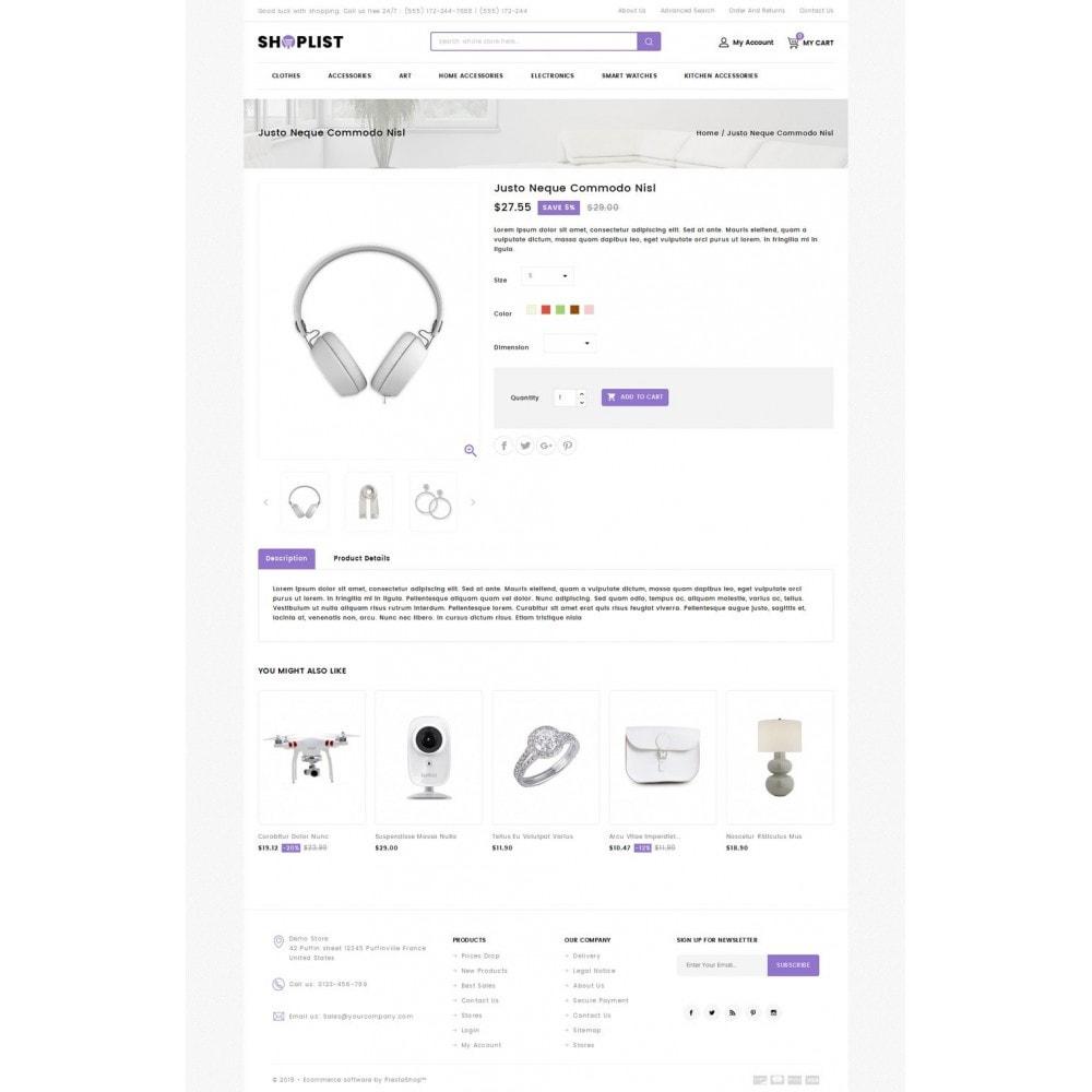 theme - Electronics & Computers - Shoplist - Mega Store - 4
