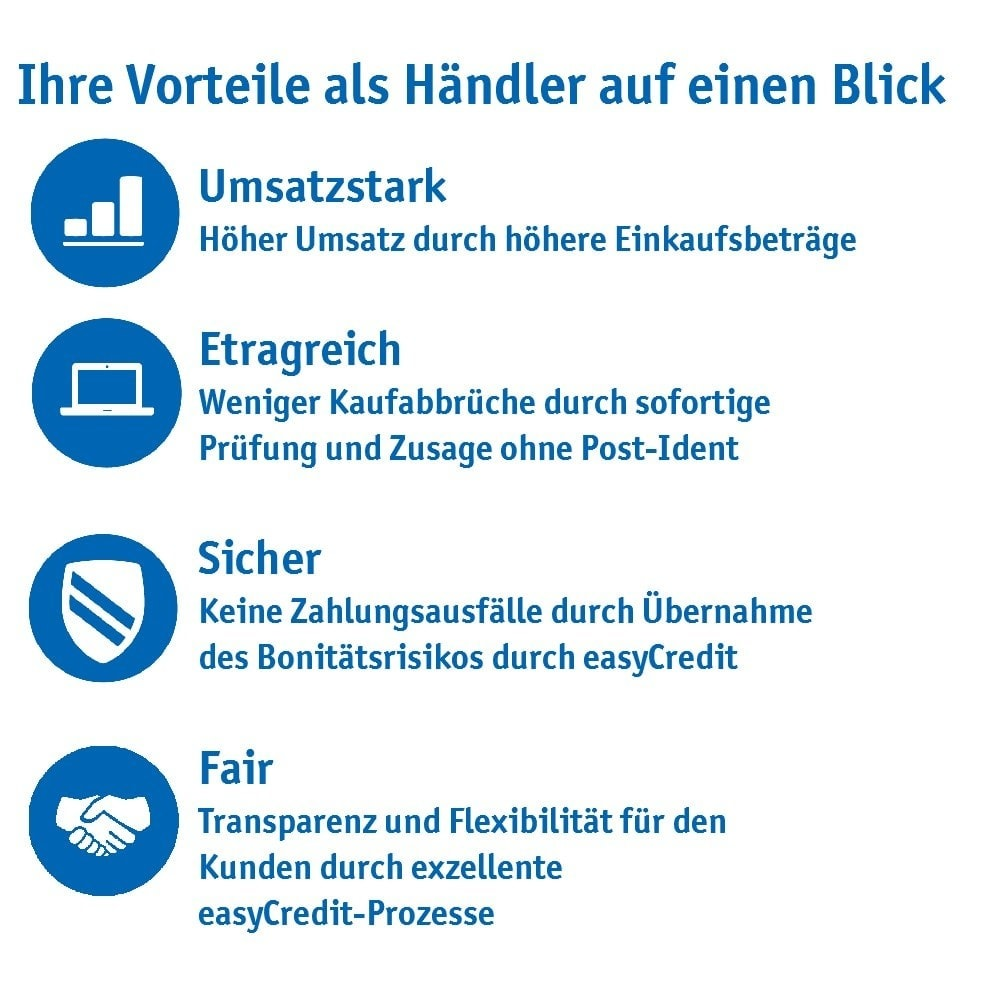 module - Andere Zahlungsmethoden - ratenkauf by easyCredit - 3