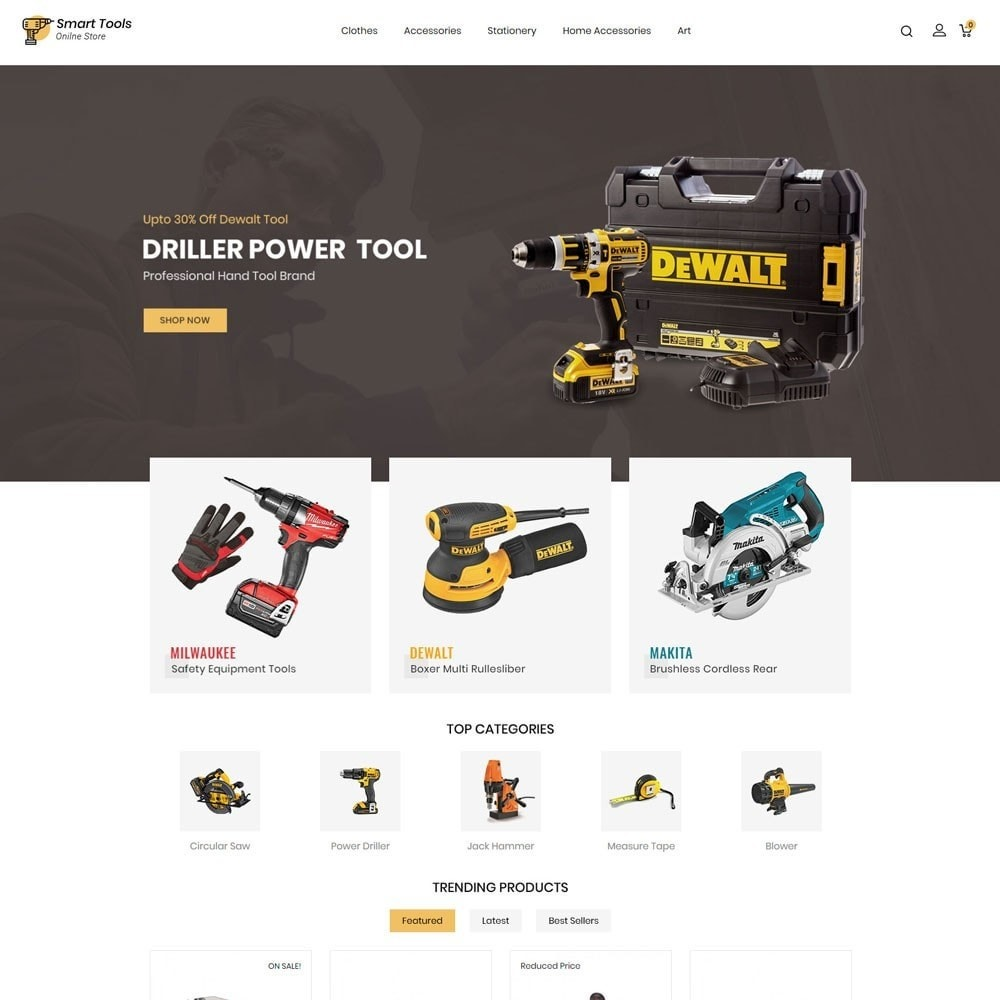 theme - Eletrônicos & High Tech - Smart Tools Store - 2