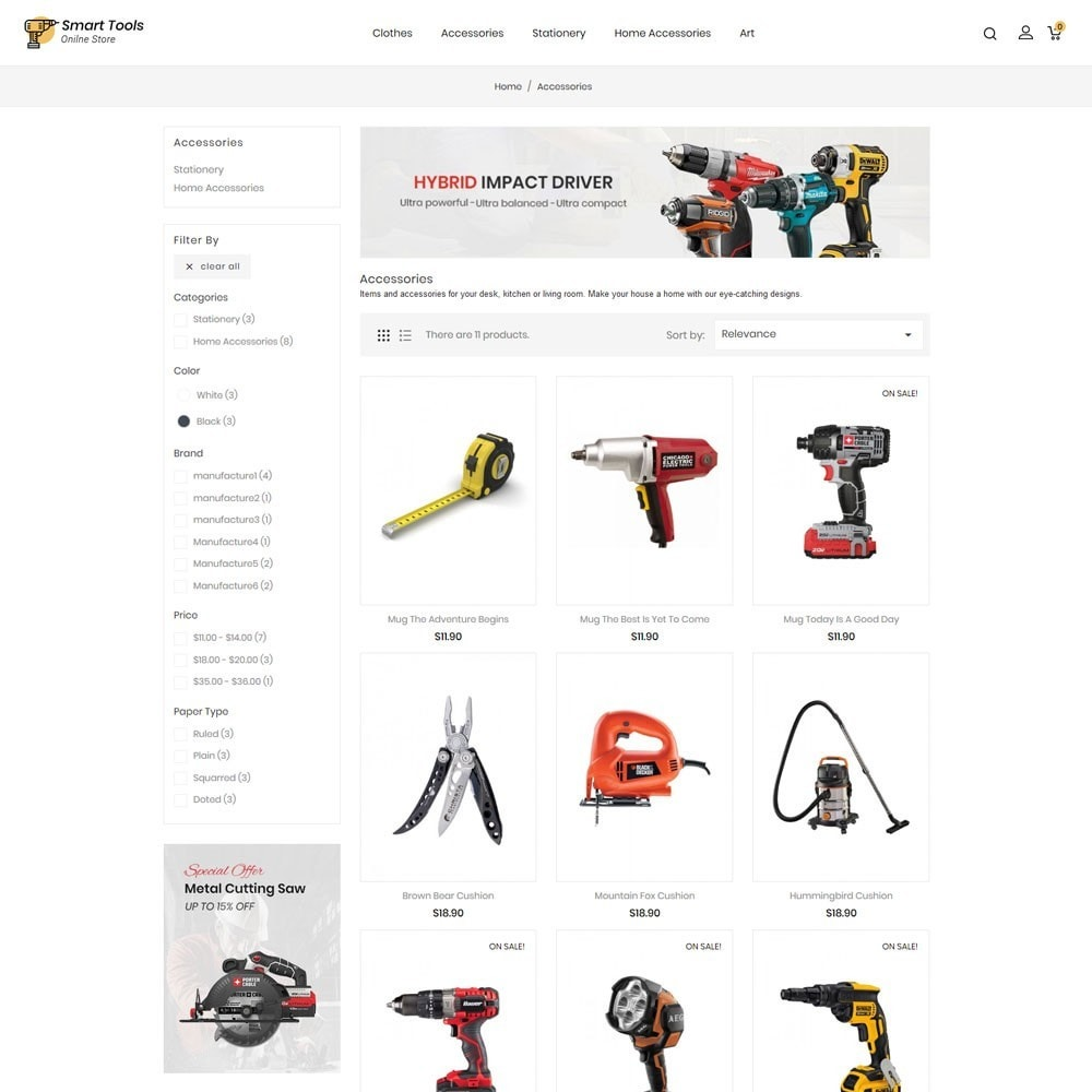 theme - Eletrônicos & High Tech - Smart Tools Store - 3