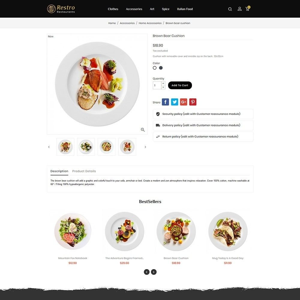 theme - Food & Restaurant - Restro Restaurant - 5