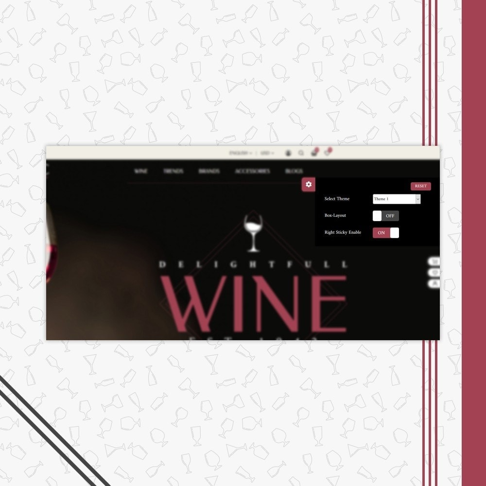 theme - Drink & Wine - Wine Store - 6