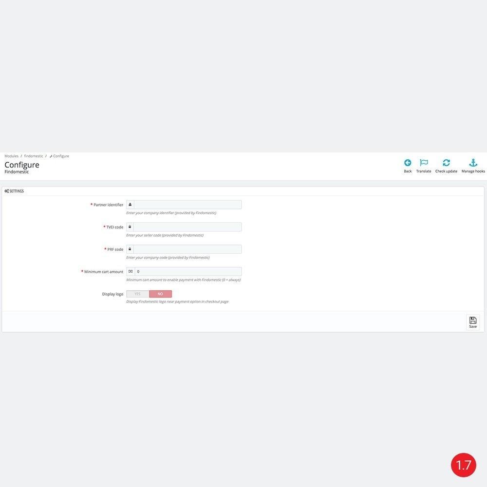 module - Inne środki płatności - Findomestic - 4
