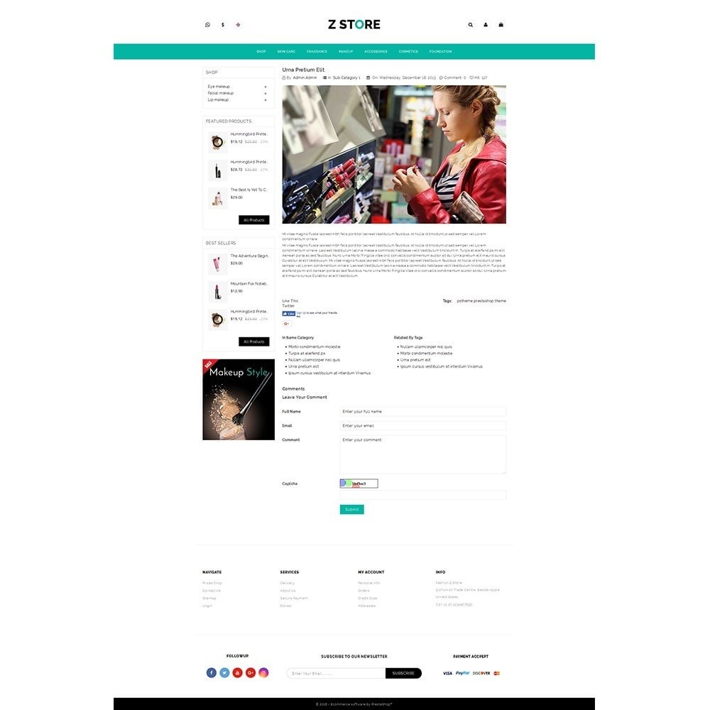 theme - Health & Beauty - Fashion Z-Store - 6