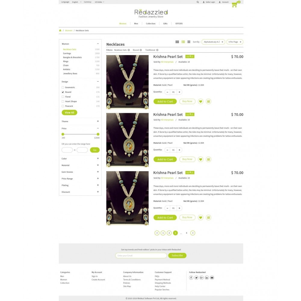 theme - Jewelry & Accessories - Redazzled Fashion Jewelry Store - 13