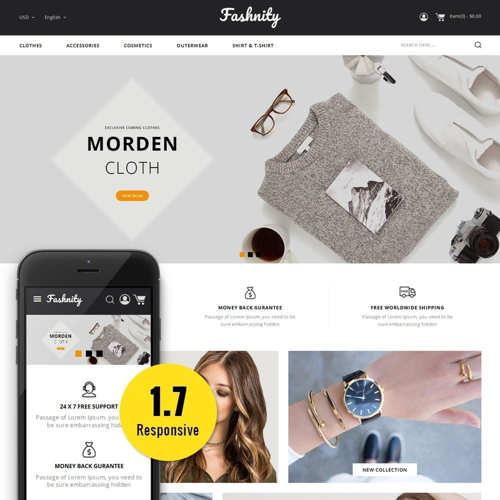 theme - Moda & Calçados - Fashinity Fashion Store - 1