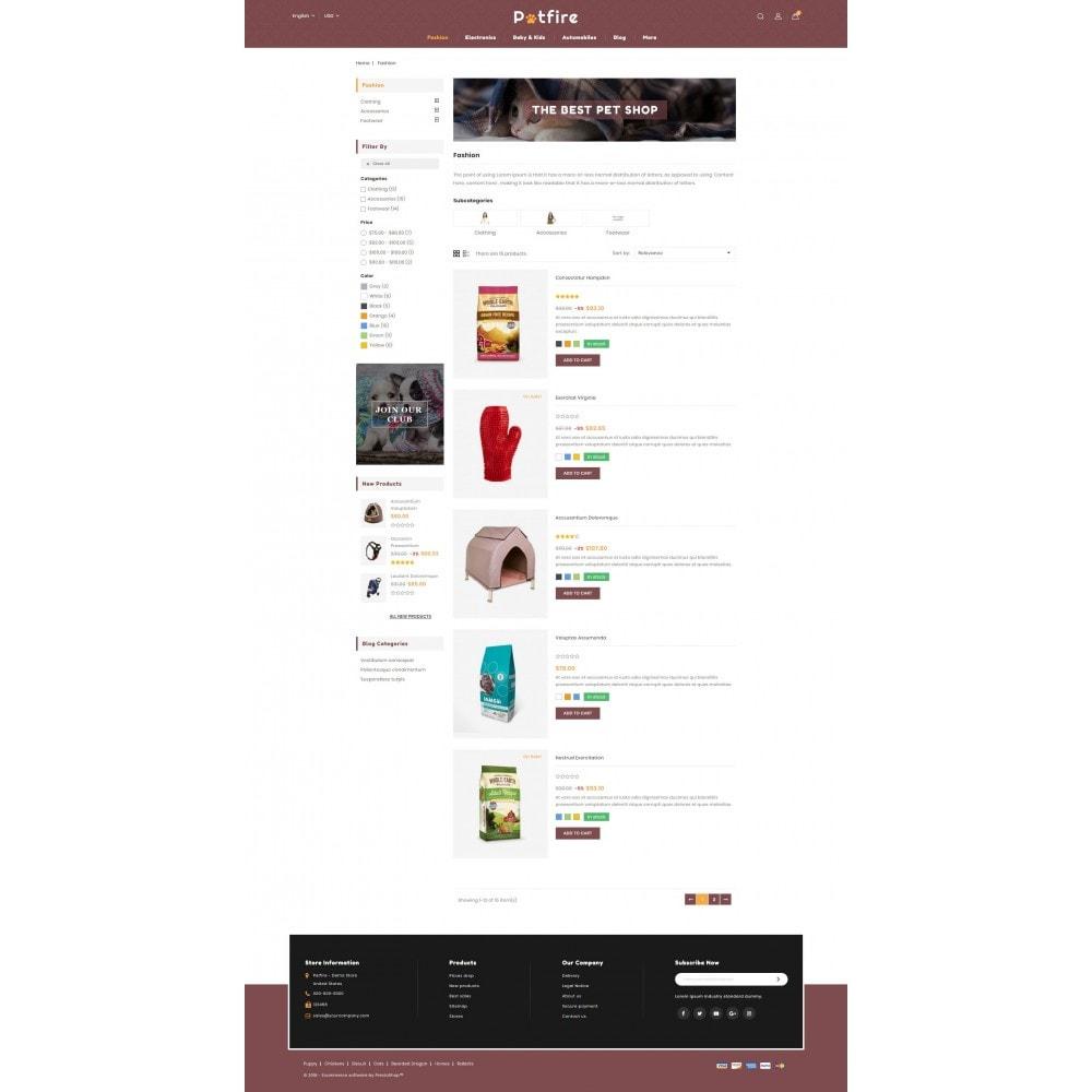 theme - Animals & Pets - Petfire - Animals Store - 4