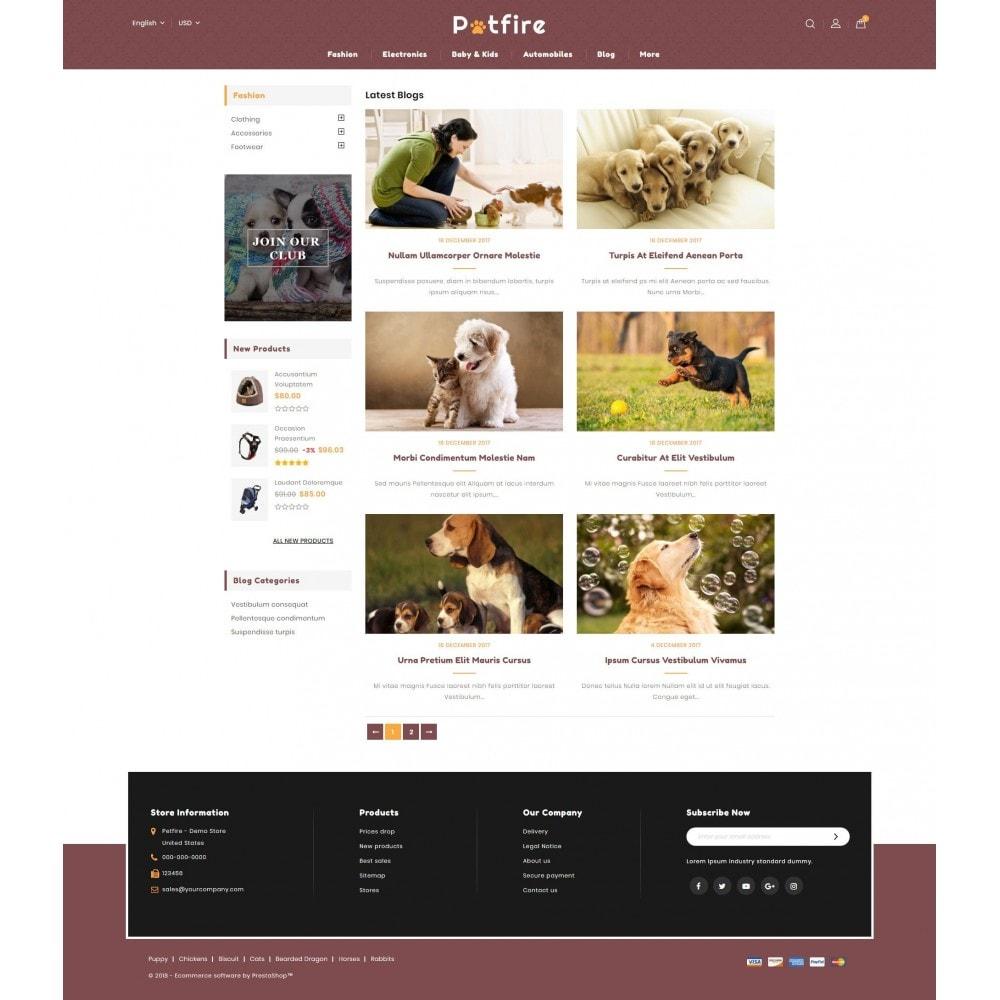 theme - Animals & Pets - Petfire - Animals Store - 9