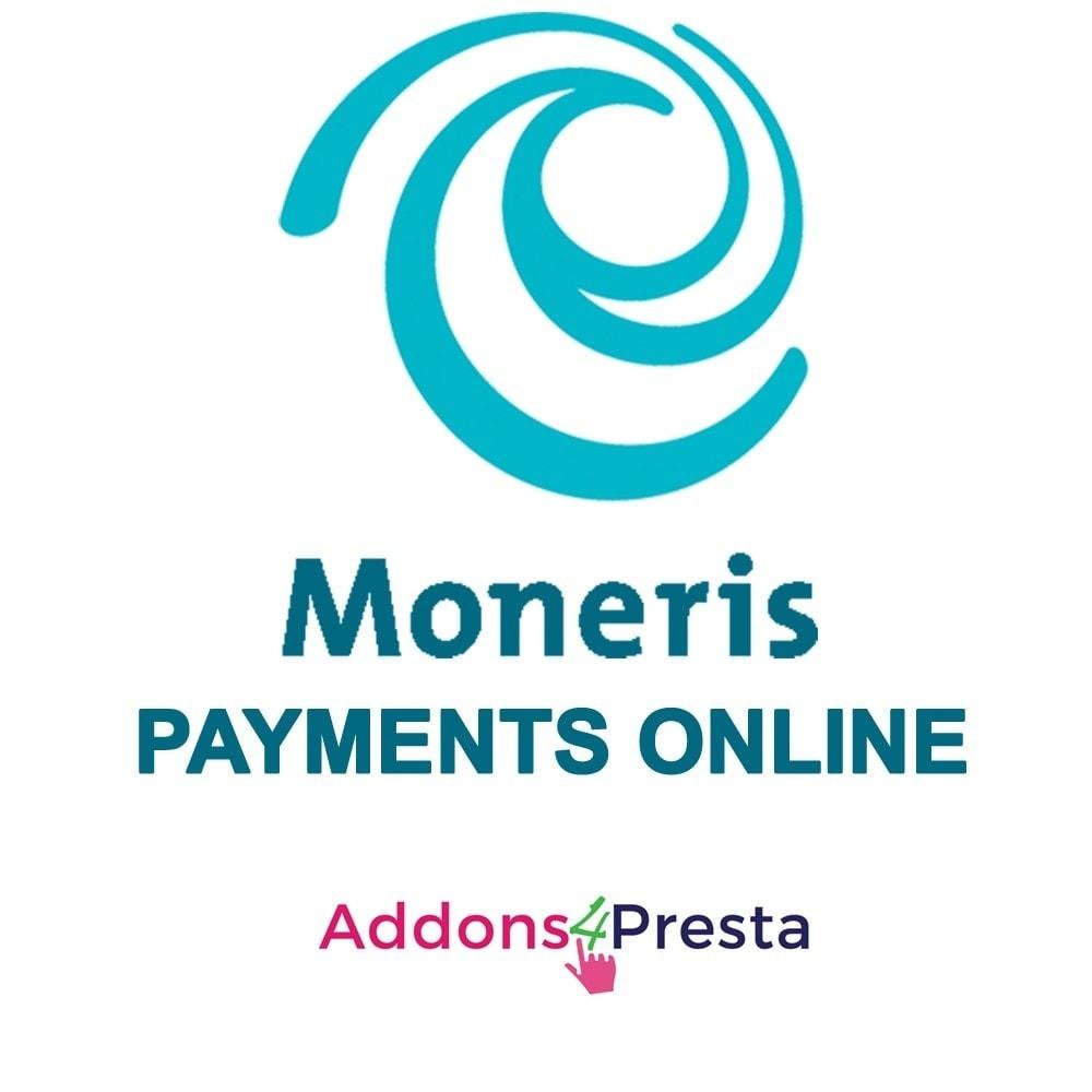 module - Pagamento por cartão ou por carteira - Moneris Online Payments - 1