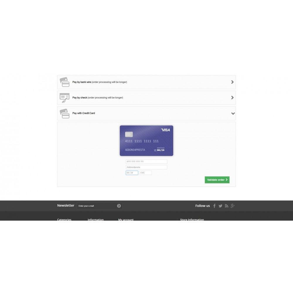 module - Paiement par Carte ou Wallet - Moneris Online Payments - 5