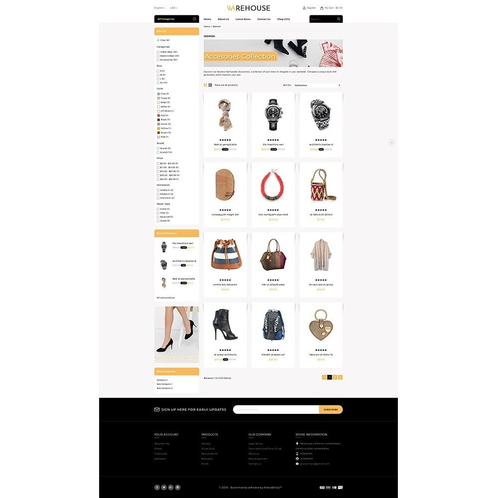 theme - Mode & Chaussures - Warehouse Store - 3