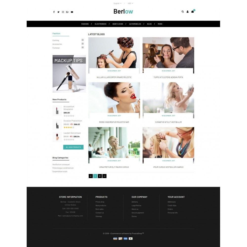 theme - Santé & Beauté - Berlow - Beauty Store - 9