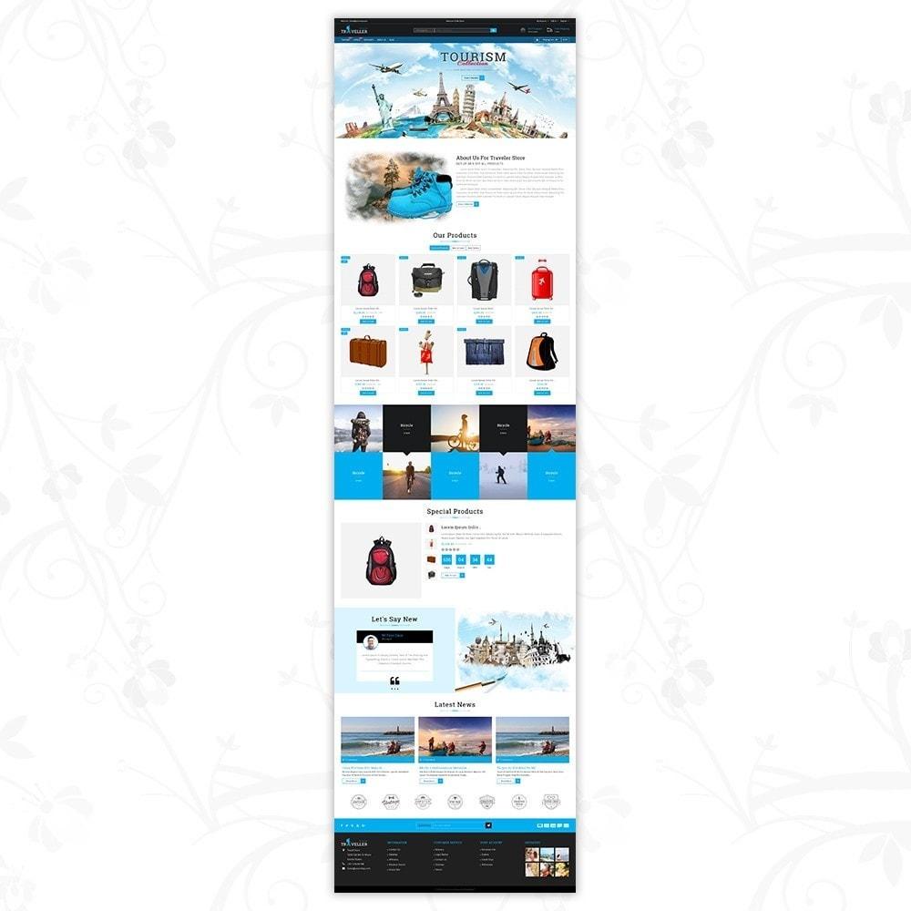 theme - Sport, Activiteiten & Reizen - Traveller - Travel Store - 2