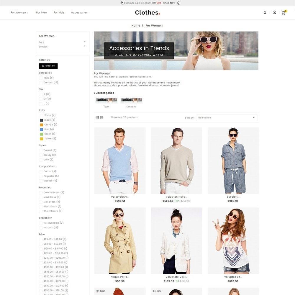 theme - Moda & Calçados - Fashion Clothes - 4