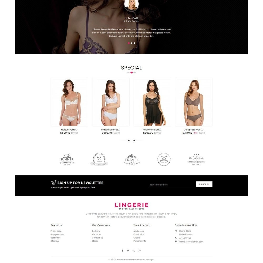 theme - Lingerie & Adulte - Lingerie Shop - 4