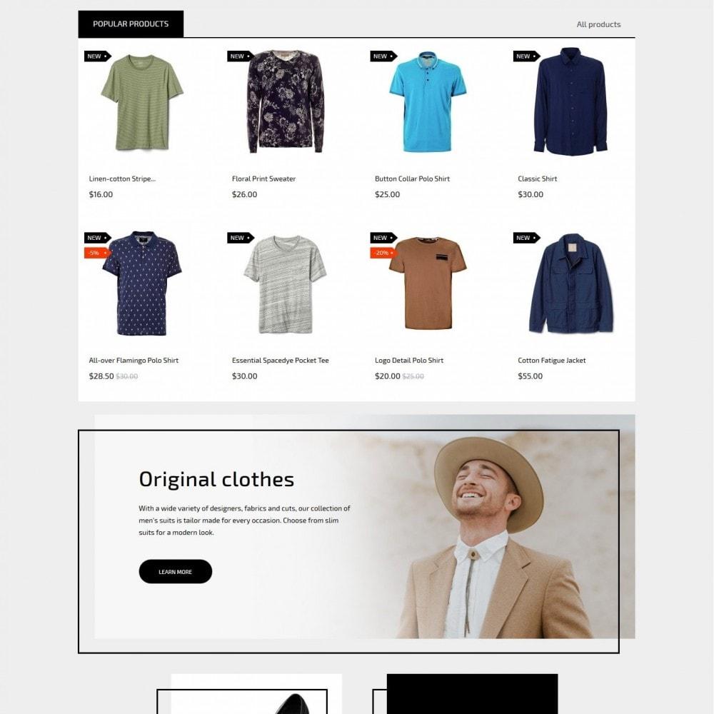 theme - Fashion & Shoes - Serious man Men's Wear - 3