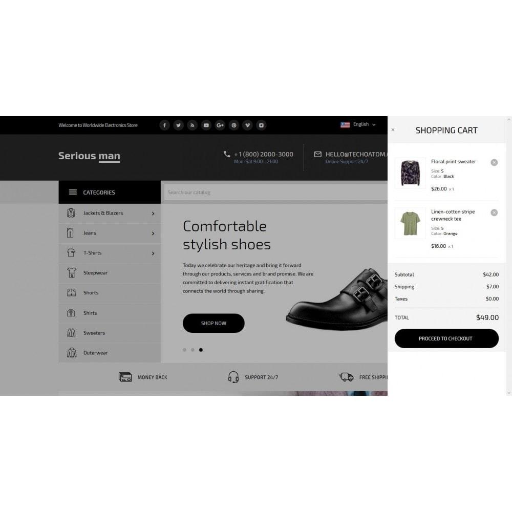 theme - Fashion & Shoes - Serious man Men's Wear - 7
