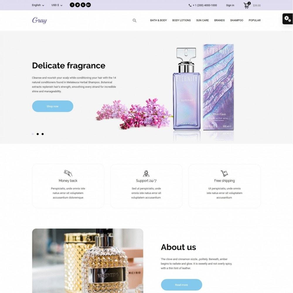 theme - Health & Beauty - Gray Cosmetics - 2