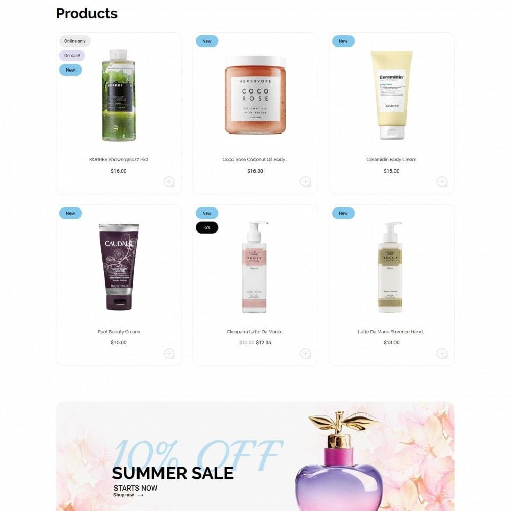 theme - Health & Beauty - Gray Cosmetics - 3