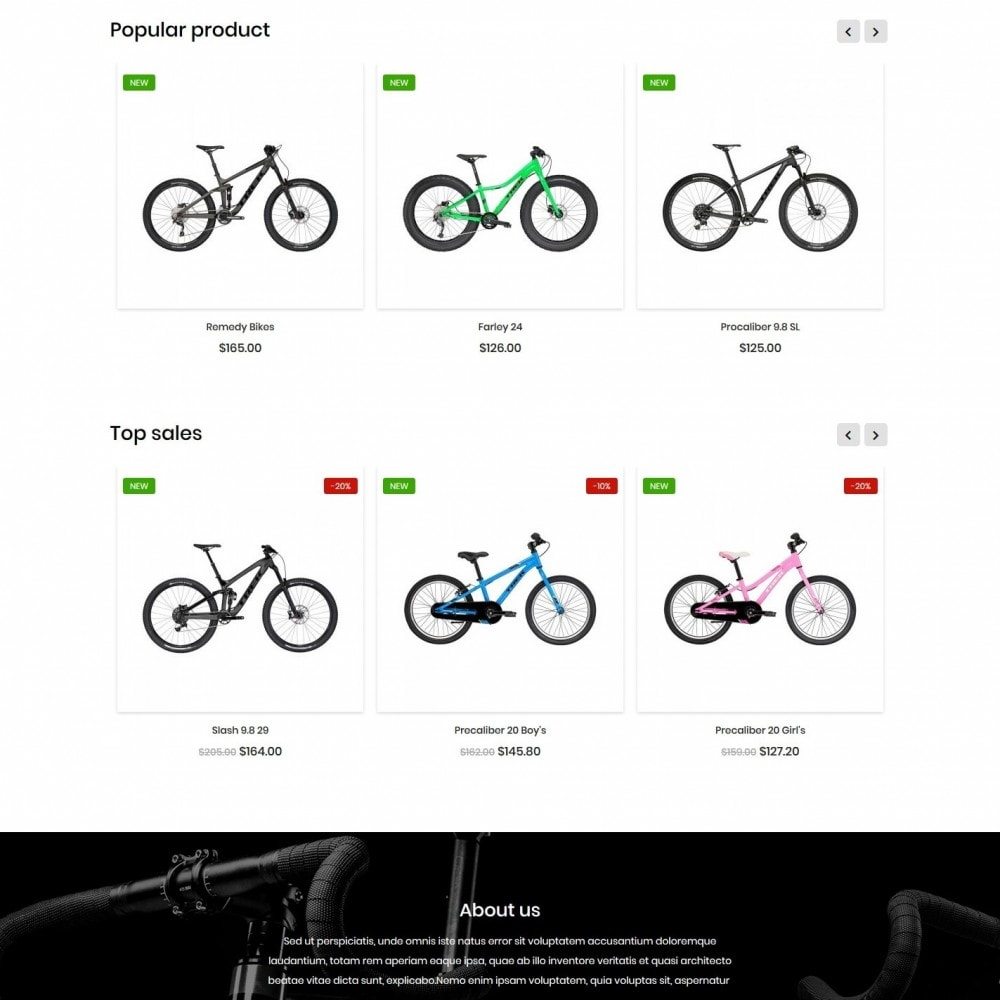 theme - Sports, Activities & Travel - Bicycles shop - 3