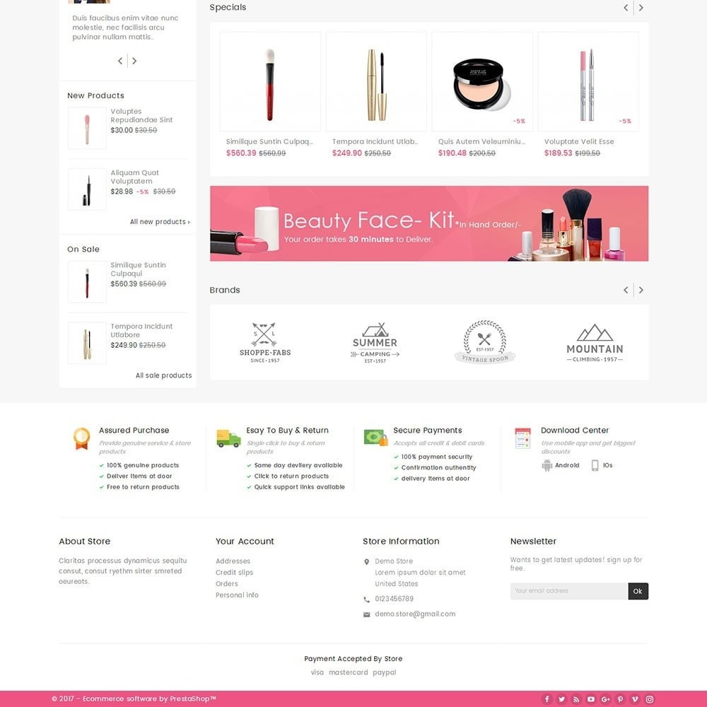 theme - Health & Beauty - Mega Cosmetics - 4