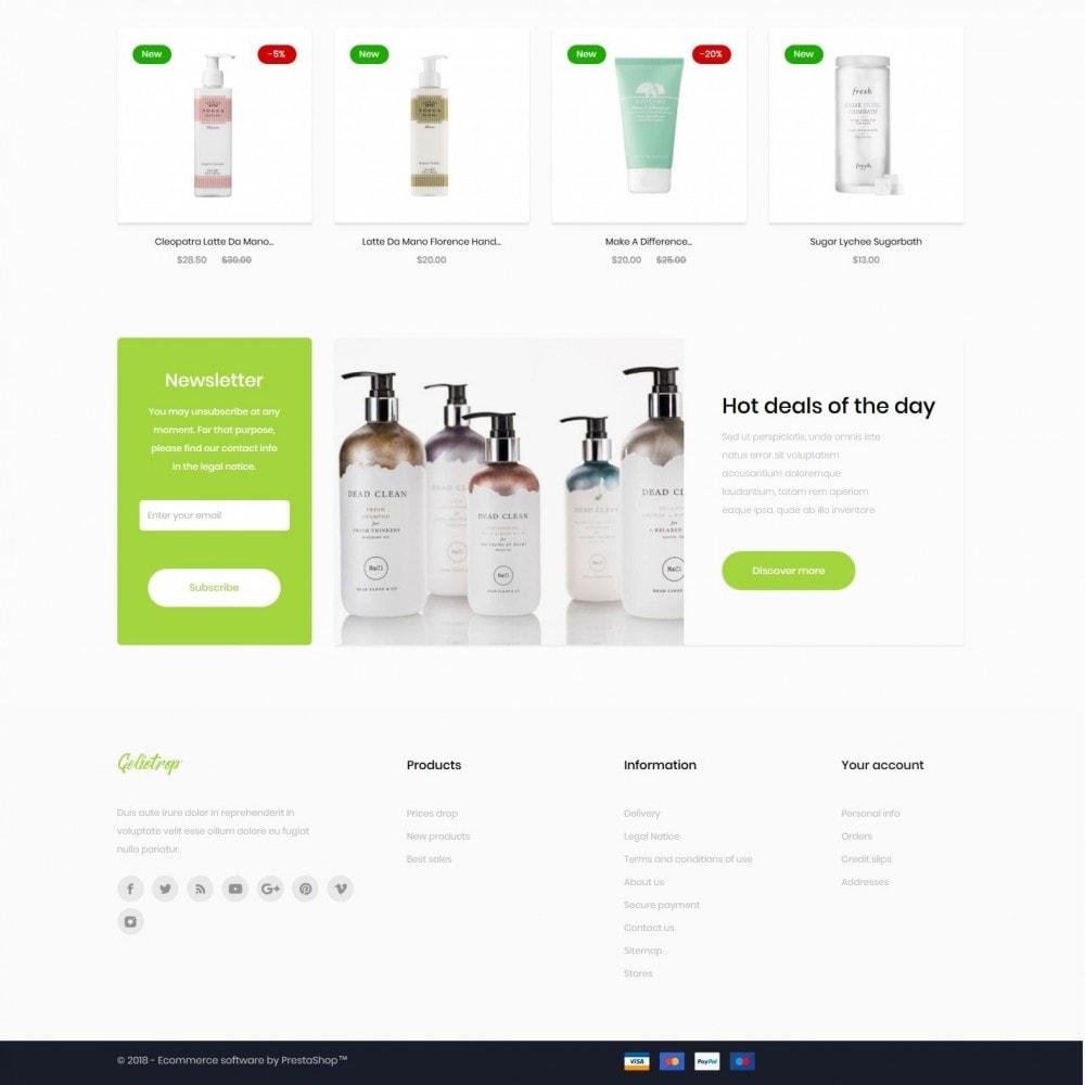 theme - Health & Beauty - Geliotrop Cosmetics - 4