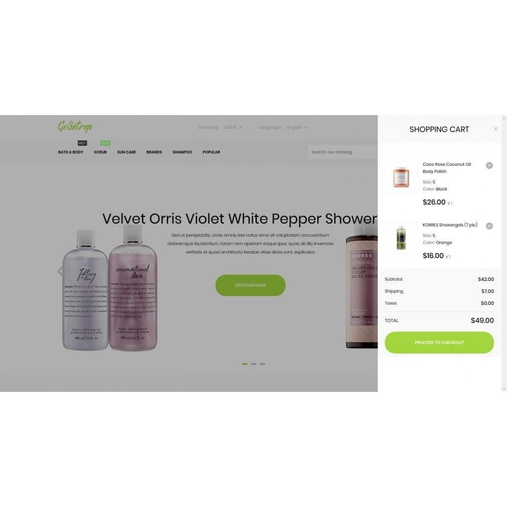 theme - Health & Beauty - Geliotrop Cosmetics - 7