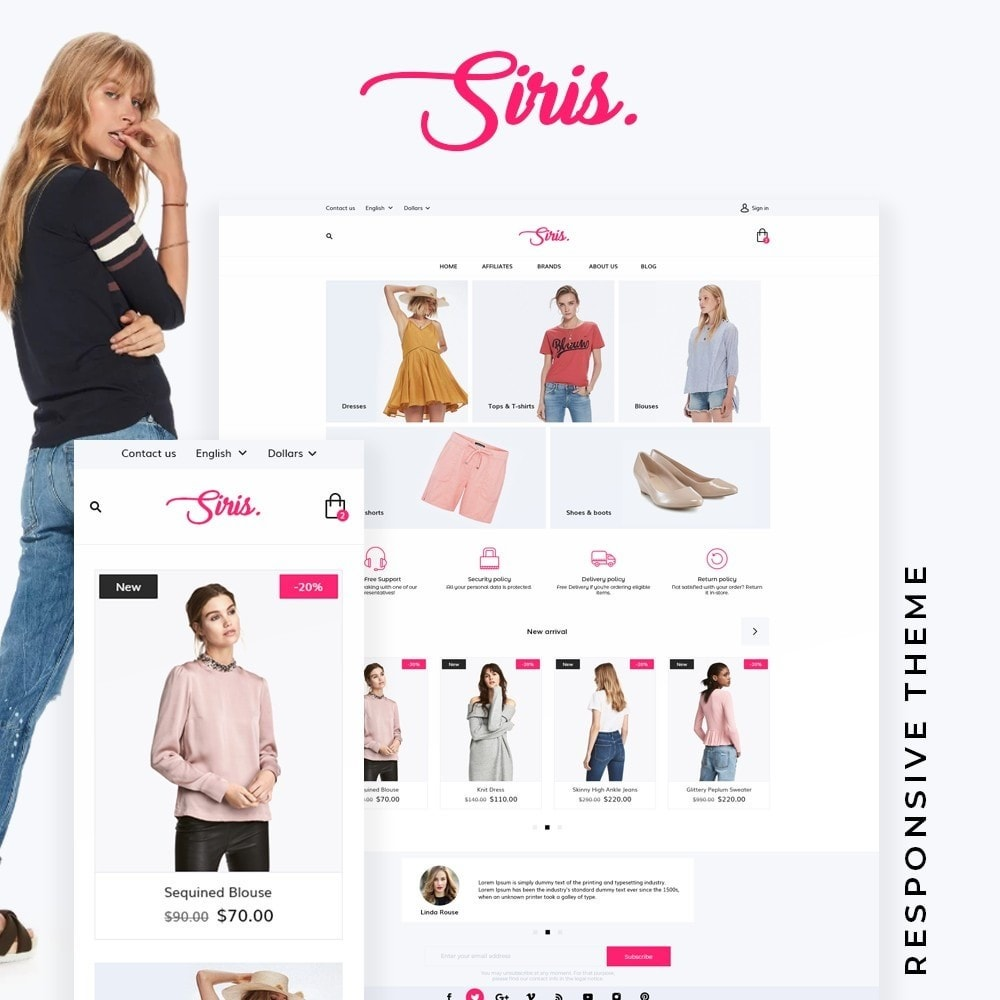 theme - Мода и обувь - Siris Fashion Store - 1
