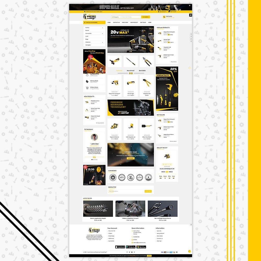 theme - Automotive & Cars - Mega Tools Shop - 2