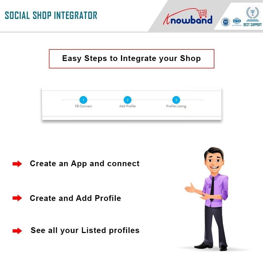 module - Produtos nas Facebook & Redes Sociais - Knowband - Social Shop Integrator - 4
