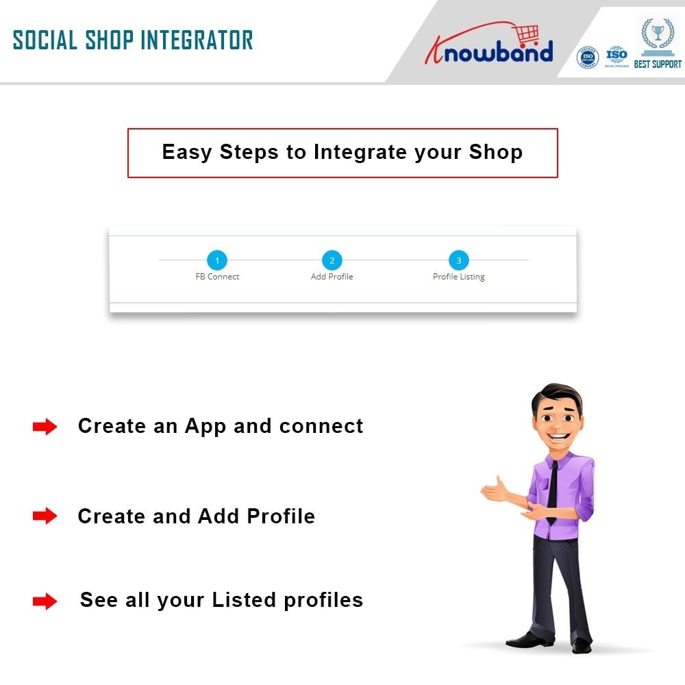 module - Prodotti sui Facebook & Social Network - Knowband - Social Shop Integrator - 4