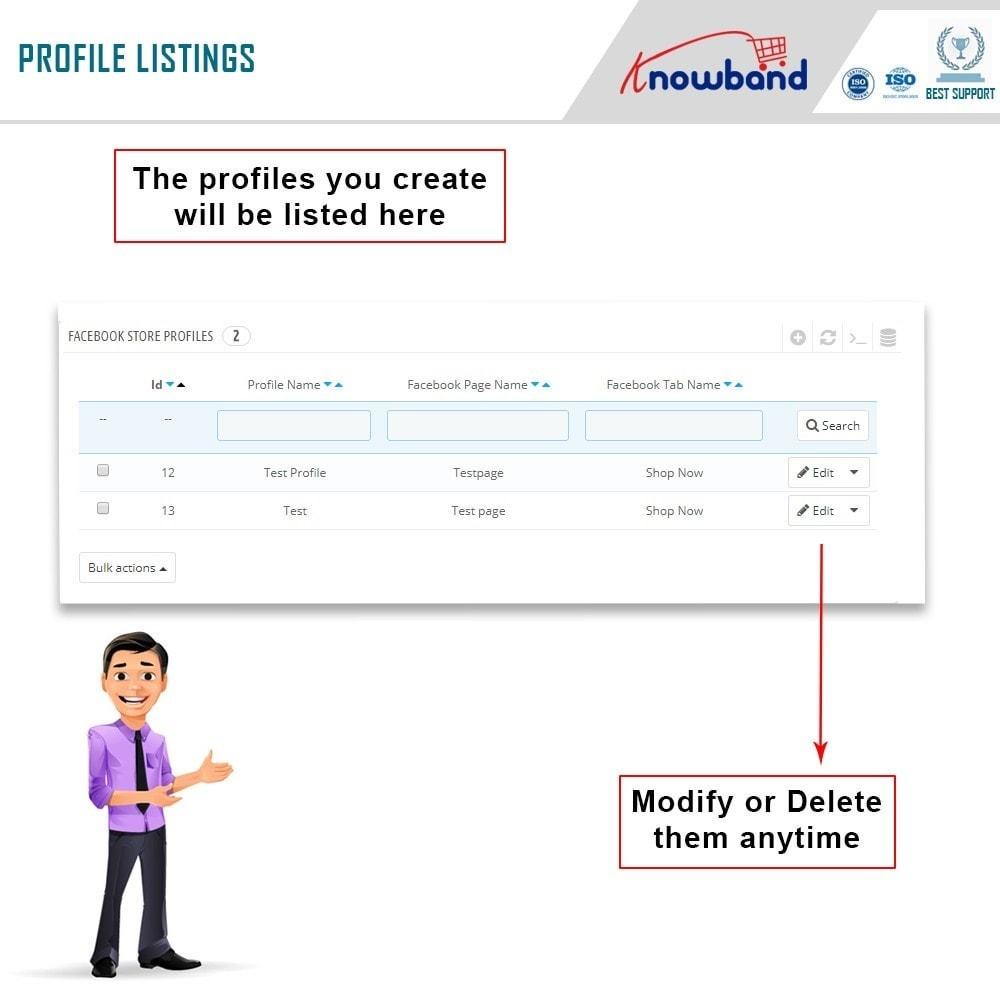 module - Prodotti sui Facebook & Social Network - Knowband - Social Shop Integrator - 9