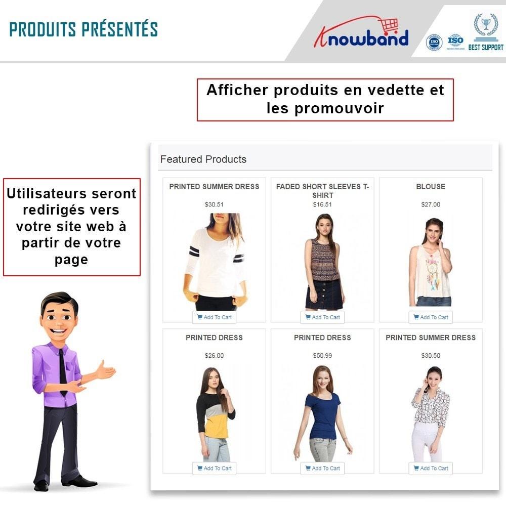module - Produits sur Facebook & réseaux sociaux - Intégrateur de boutique sociale - 2