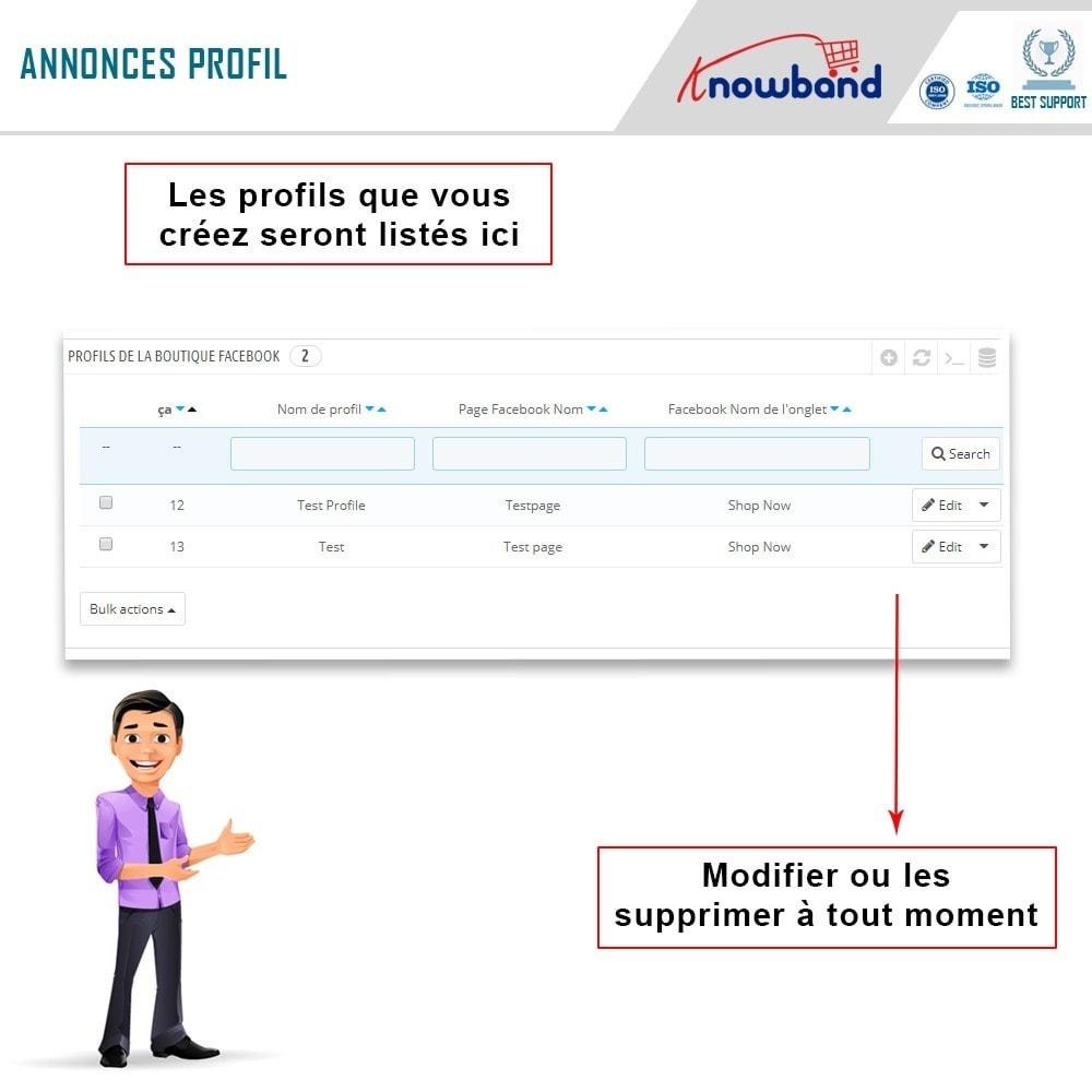 module - Produits sur Facebook & réseaux sociaux - Intégrateur de boutique sociale - 9
