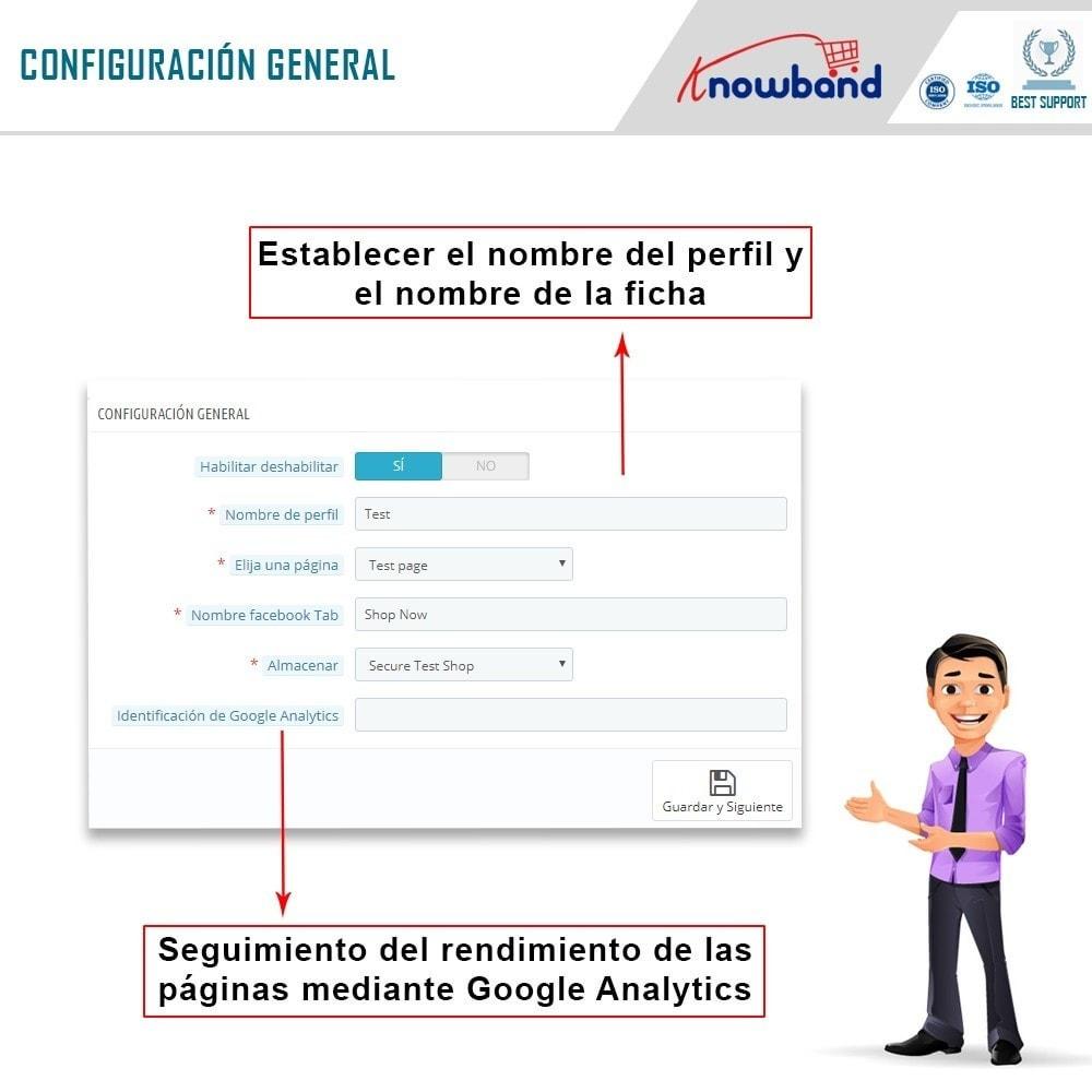 module - Productos en Facebook & redes sociales - Integrador de tienda social - 5