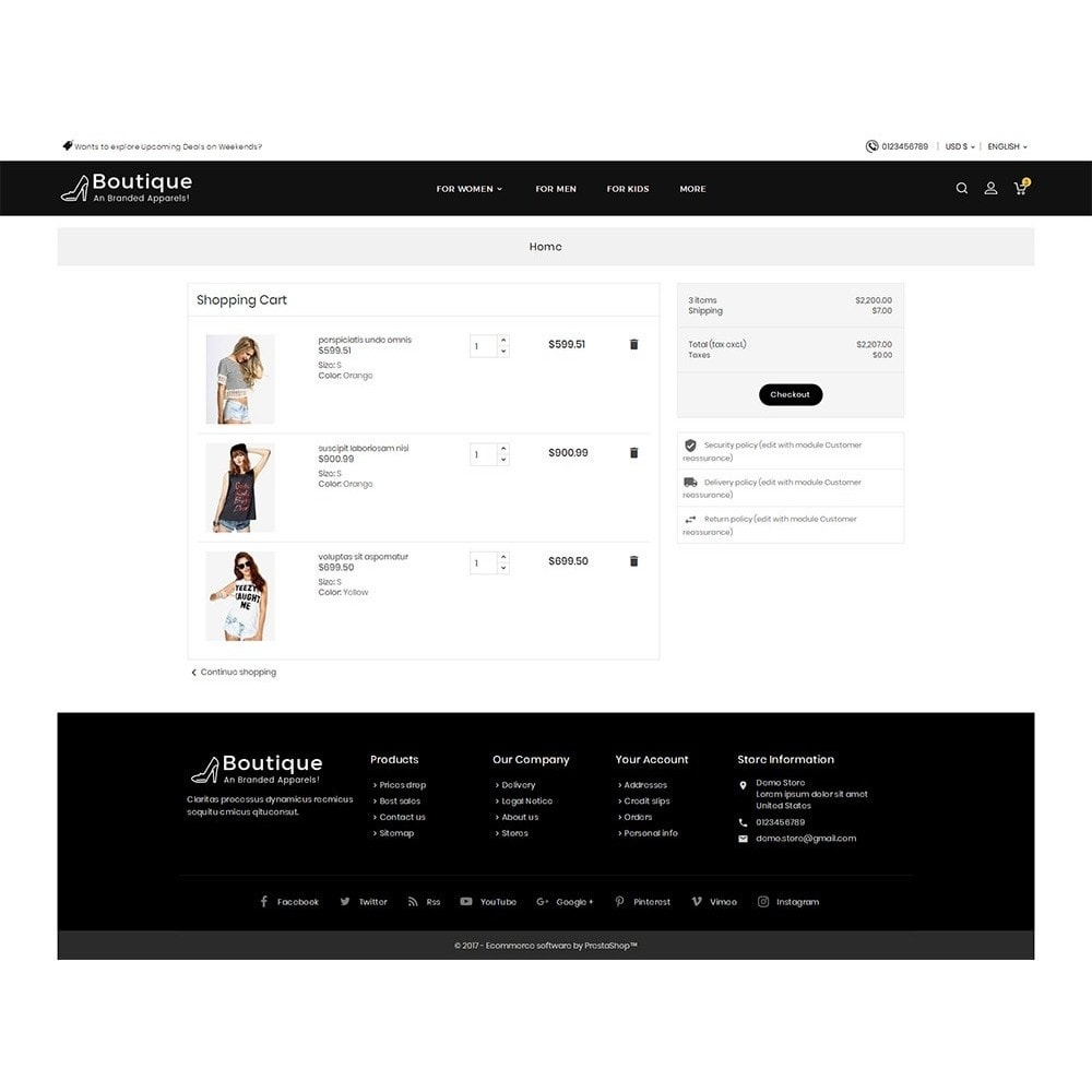 theme - Moda & Calzature - Boutique Fashion Light - 8