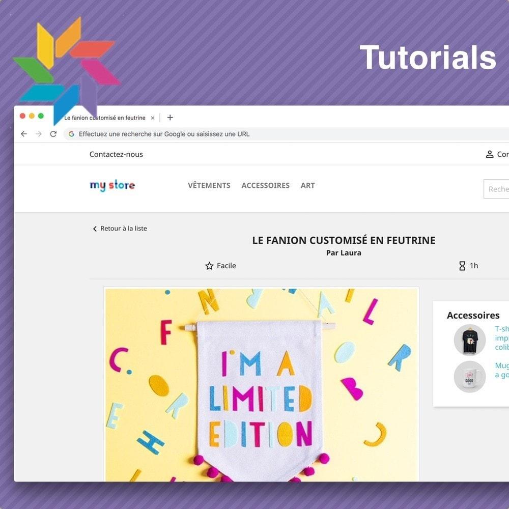 module - Blog, Forum & Nieuws - Tutorials - 2