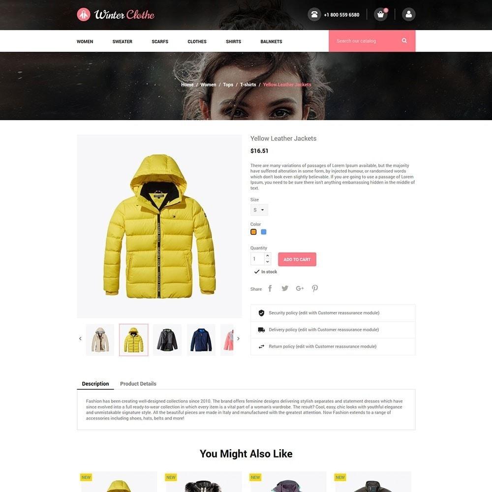 theme - Fashion & Shoes - Winter Cloth Store - 5