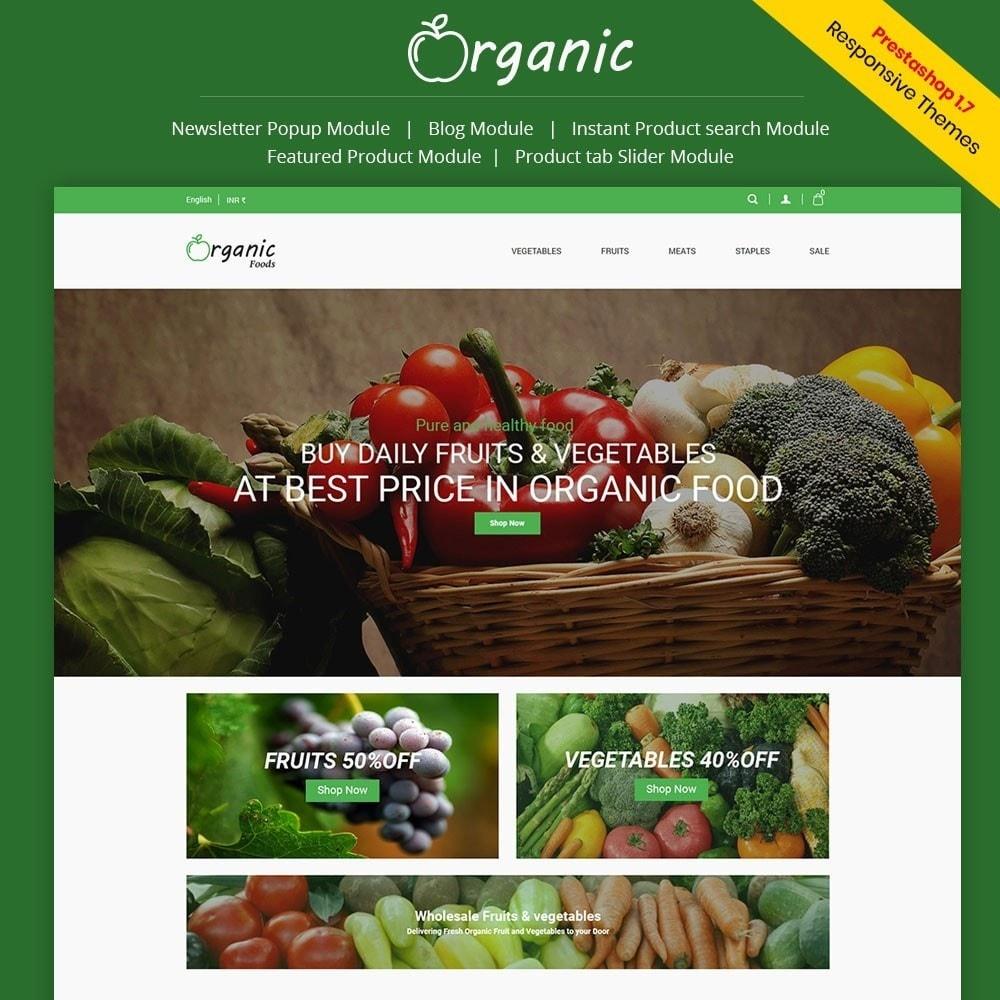 theme - Alimentation & Restauration - Magasin d'aliments biologiques - 1