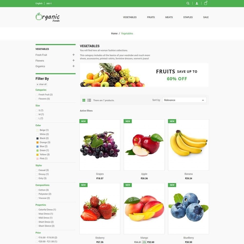 theme - Food & Restaurant - Organic Food Store - 3