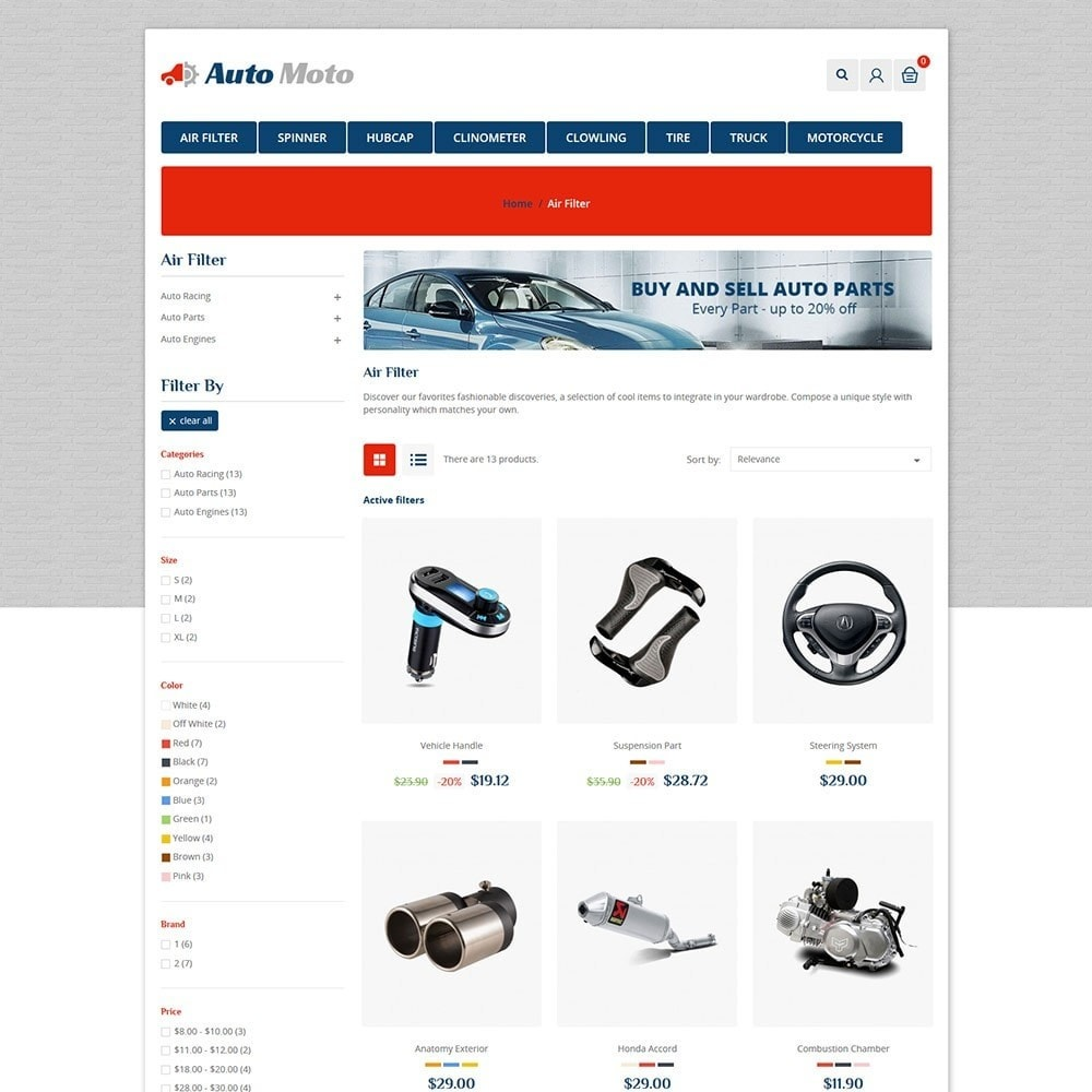 theme - Automotive & Cars - Automoto Auto Store - 3