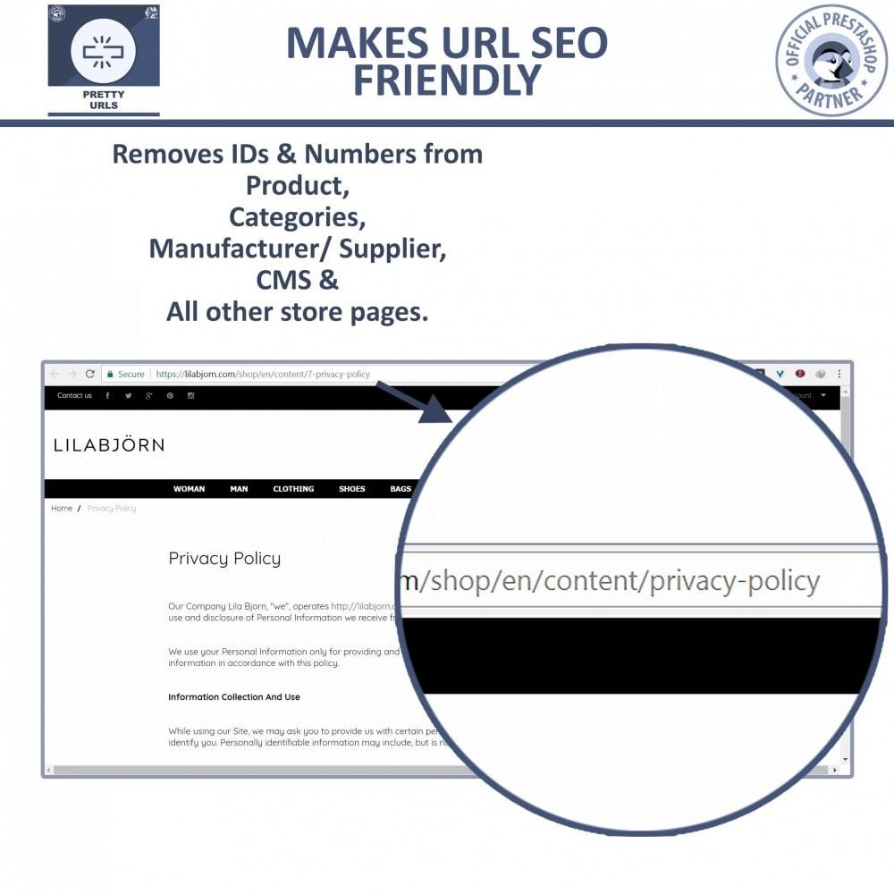 module - URL & Redirects - Pretty URLs - SEO Friendly URL | Remove IDs & Numbers - 4