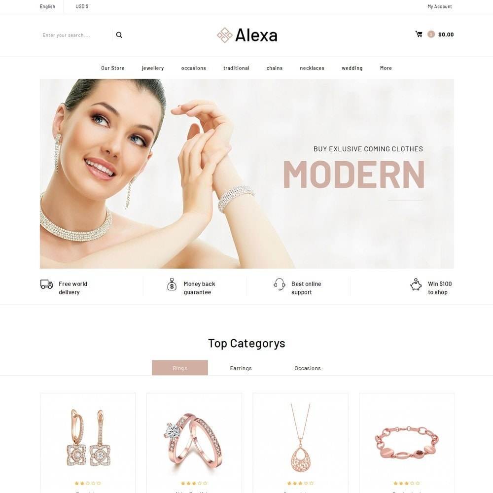 theme - Jewelry & Accessories - Alexa - The Jewelry Shop - 2