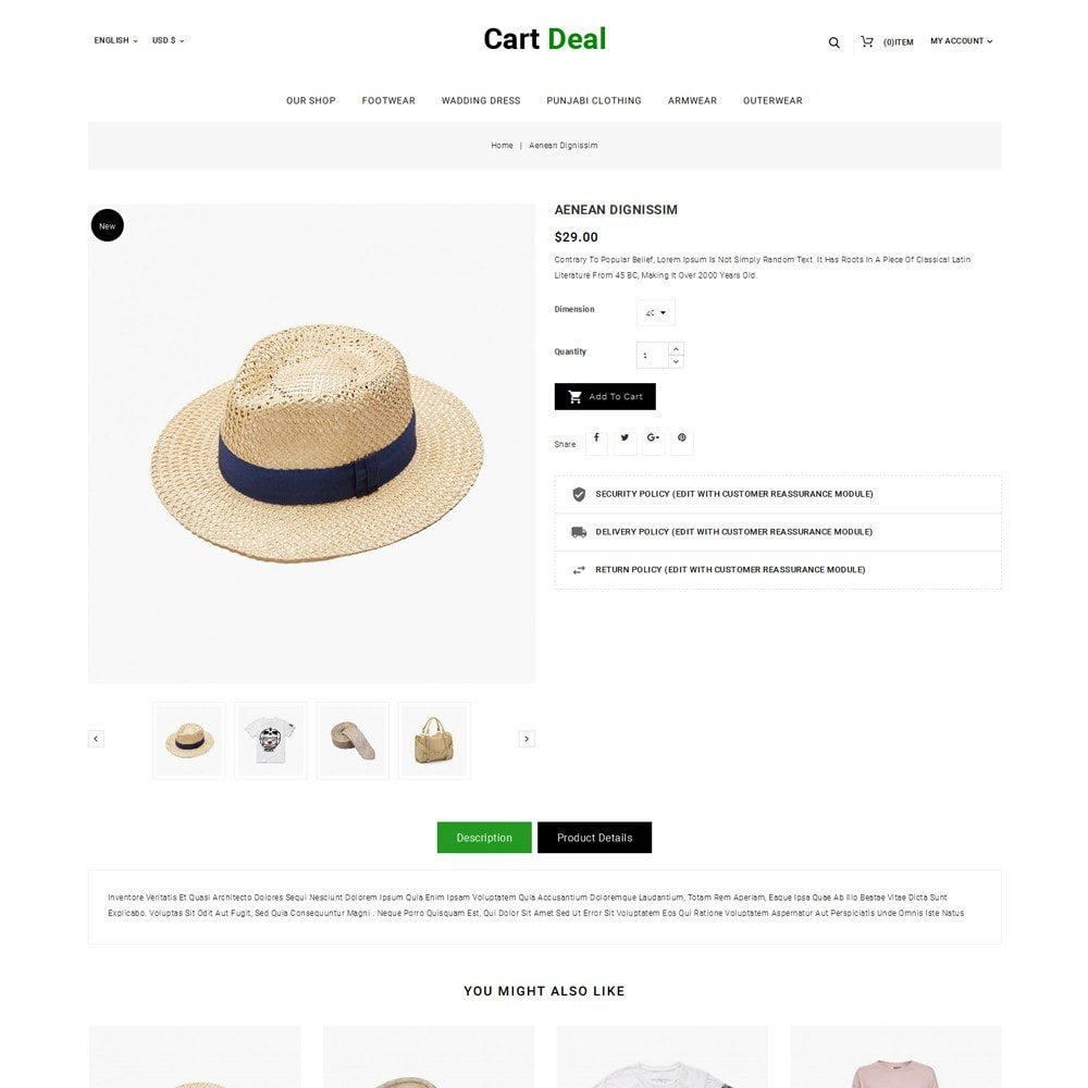 theme - Fashion & Shoes - Cart Deal - The Fashion Store - 6