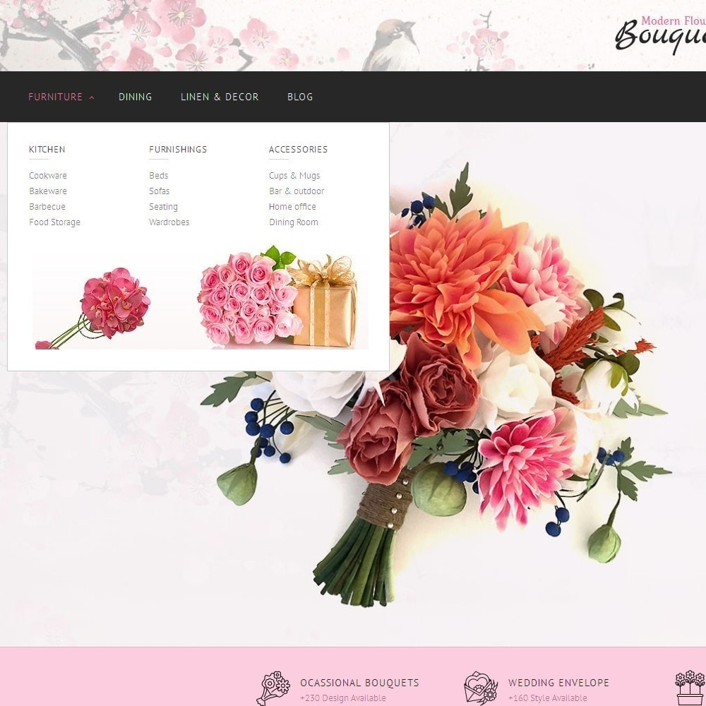 theme - Gifts, Flowers & Celebrations - Flower Store - 7