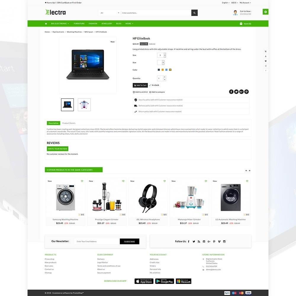 theme - Electronics & Computers - Electra – The Big Electronic Store - 4